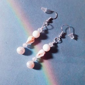 Handmade shell earings